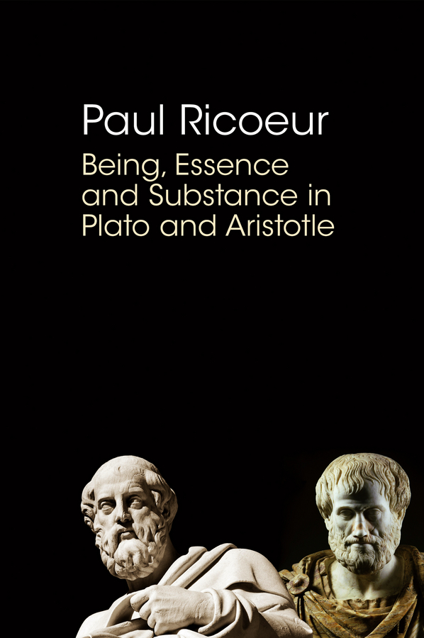 Being, Essence and Substance in Plato and Aristotle  in essence 100ml