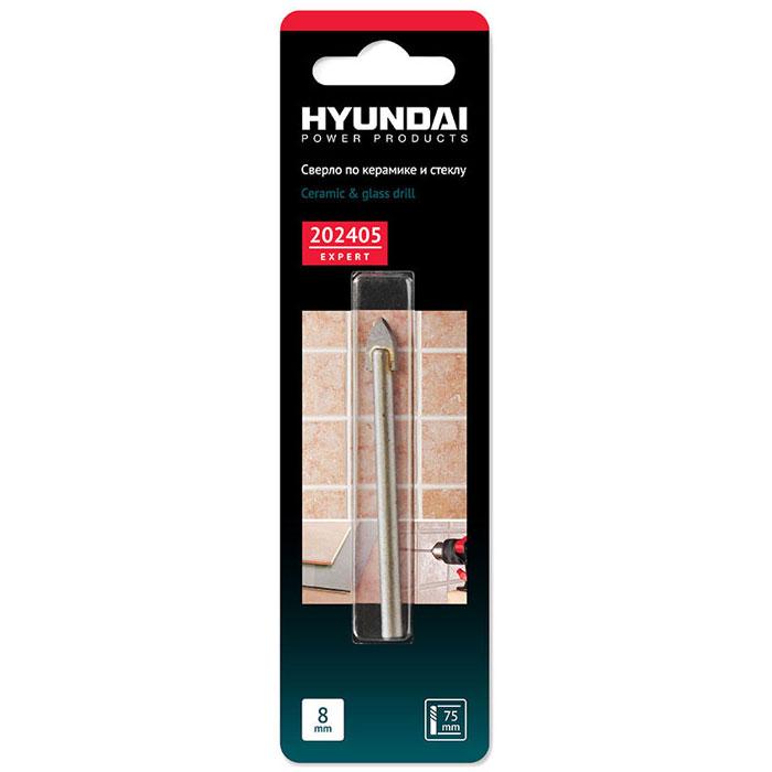 Hyundai сверло по кафелю, керамике, стеклу, 8,0 х 75 мм202405Сверло по кафелю, керамике и стеклу Hyundai 8 х 75 мм имеет сверхострую двухстороннюю заточку. Само сверло изготовлено из закаленной конструкционной легированной стали Cr40 и имеет твердосплавный карбид вольфрамовый наконечник НМСТ. Во время работы рекомендуется охлаждать сверло водой.