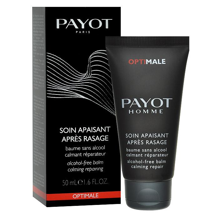 Payot Бальзам после бритья, успокаивающий, без парабена, 50 мл65084712Бальзам успокаивает кожу после бритья, смягчает, восстанавливает.Наносите бальзам на кожу лица после бритья.