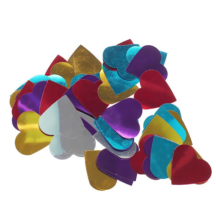 Новогоднее конфетти Сердечки, цвет: мульти. 3095230952Новогоднее конфетти «Сердечки», выполненное из разноцветной металлизированной фольги, является неотъемлемым атрибутом новогоднего торжества. Это чудесное украшение принесет в ваш дом или офис незабываемую атмосферу праздничного веселья! Характеристики:Материал: металлизированная фольга (ПВХ). Цвет: мульти. Размер сердечка 3,5 см х 3,5 см. Размер упаковки: 8 см х 9 см х 1 см. Артикул: 30952.