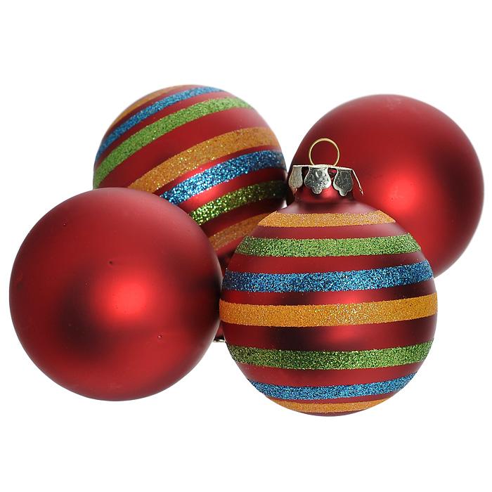 Набор новогодних подвесных украшений, 4 шт. 30546 цена