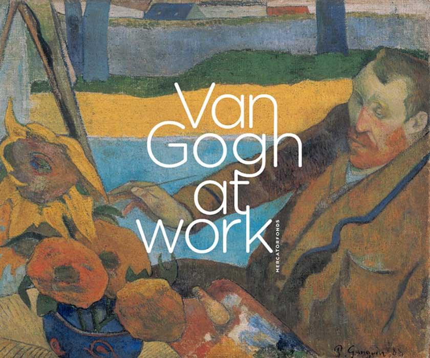 Van Gogh at Work настенные часы vincent van gogh fd8635