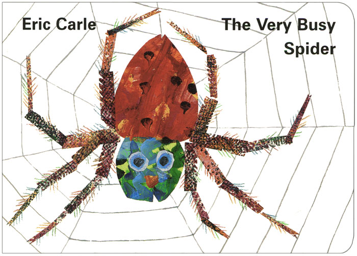 The Very Busy Spider my own very busy spider coloring book