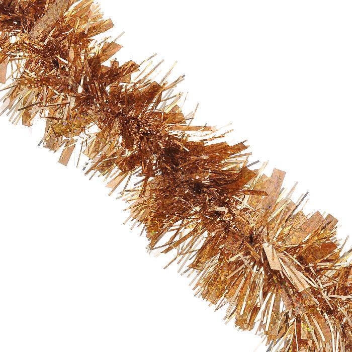 Новогодняя мишура Magic Time, диаметр 7,5 см, длина 200 см, цвет: коричневый. 2048120481Новогодняя мишура Magic Time коричневого цвета, выполненная из ПВХ, поможет вам украсить свой дом к предстоящим праздникам. А новогодняя елка с таким украшением станет еще наряднее. Мишура армирована, то есть имеет проволоку внутри и способна сохранять приданную ей форму.Новогодней мишурой можно украсить все, что угодно - елку, квартиру, дачу, офис - как внутри, так и снаружи. Можно сложить новогодние поздравления, буквы и цифры, мишурой можно украсить и дополнить гирлянды, можно выделить дверные колонны, оплести дверные проемы.Коллекция декоративных украшений из серии Magic Time принесет в ваш дом ни с чем несравнимое ощущение волшебства! Создайте в своем доме атмосферу тепла, веселья и радости, украшая его всей семьей. Характеристики:Материал: ПВХ. Цвет: коричневый. Длина: 200 см. Диаметр: 7,5 см. Артикул: 20481.