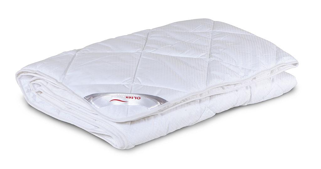 Одеяло облегченное OL-Tex Богема, наполнитель: микроволокно OL-tex, цвет: белый, 140 см х 205 смОЛС-15-2Чехол облегченного одеяла OL-Tex Богема выполнен из мягкого приятного на ощупь сатина-страйп. Наполнитель - высокосиликонизированное микроволокно OL-tex, которое является усовершенствованным аналогом наполнителя Лебяжий пух.Лебяжий пух - это современный заменитель натурального лебяжьего пуха. Искусственный Лебяжий пух сохраняет непревзойденную мягкость и легкость природного материала, но еще обладает и рядом новых достоинств. Лебяжий пух не вызывает аллергии, в изделиях с таким наполнителем не заводится клещ, бактерии, гнили. За подушками и одеялами очень легко ухаживать - их можно стирать в машинке, они быстро и полностью высыхают.Легкое, почти невесомое одеяло, с нежнейшим наполнителем Ol-Tex идеально подходит для сна. Одеяло из коллекции Богема обладает прекрасными терморегулирующими свойствами, гиппоаллергенно. Сохраняет форму и объем даже при многократных стирках.Одеяло OL-Tex Богема - достойный выбор современной хозяйки!Рекомендации по уходу:- Стирка в теплой воде (температура до 30°С),- Нельзя отбеливать. При стирке не использовать средства, содержащие отбеливатели (хлор),- Сушить вертикально без отжима, - Не гладить. Не применять обработку паром,- Нельзя выжимать и сушить в стиральной машине. Характеристики: Материал чехла: сатин-страйп (100% хлопок). Наполнитель: микроволокно OL-tex. Плотность: 200 г/м2. Размер одеяла: 140 см х 205 см. Размеры упаковки: 55 см х 45 см х 15 см. Артикул: ОЛС-15-2.УВАЖАЕМЫЕ КЛИЕНТЫ! Обращаем ваше внимание на возможные изменения в цветовом дизайне товара, связанные с ассортиментом продукции. Поставка осуществляется в зависимости от наличия на складе.