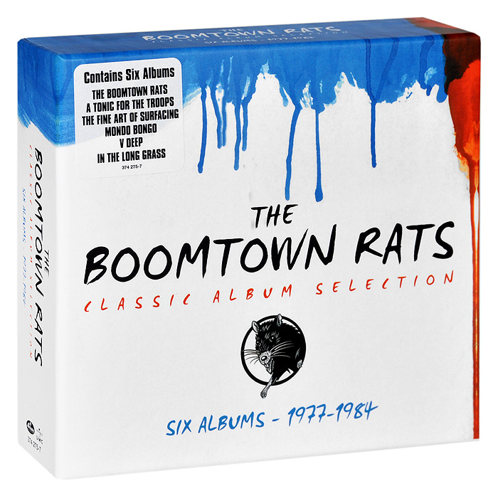 The Boomtown Rats. Classic Album Selection (6 CD)