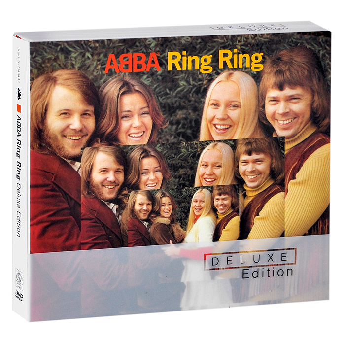 Фото - ABBA ABBA. Ring Ring. Deluxe Edition (CD + DVD) cd led zeppelin ii deluxe edition