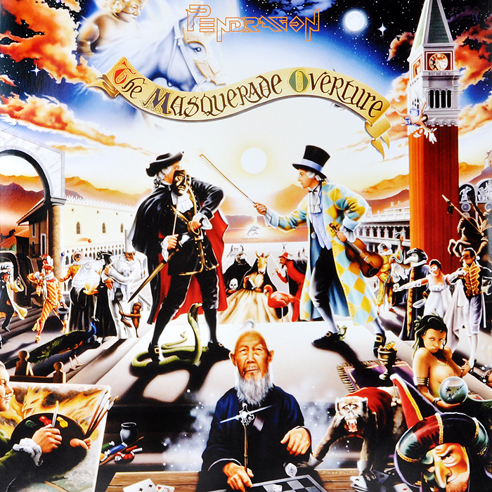 Pendragon Pendragon. The Masquerade Overture (2 LP) pendragon pendragon not of this world 2 lp