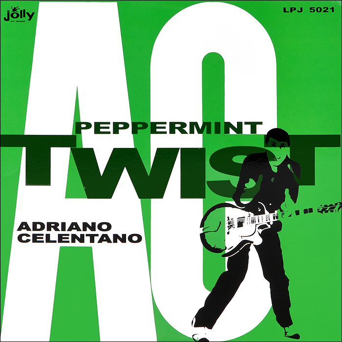 Адриано Челентано Adriano Celentano. Peppermint Twist. Limited Edition (LP) jolly 100g