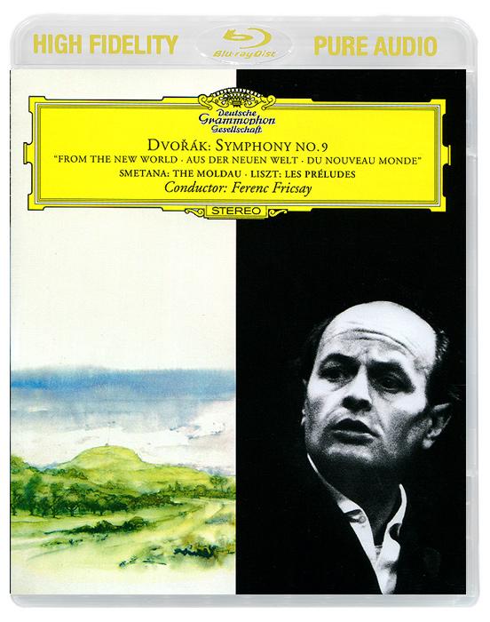 Ференц Фриксэй,Radio Symphonie Orchester Berlin,Berliner Philharmoniker Ferenc Fricsay. Dvorak. Symphony No.9 / Smetana. The Molda / Liszt. Les Preludes (Blu-Ray Audio) ferenc molnar pál tänava poisid