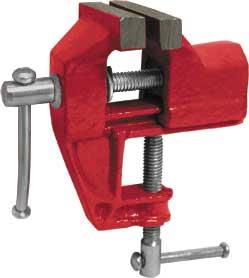 Тиски настольные Fit, облегченные, 70 мм59407Тиски настольные FIT - это приспособление для фиксации обрабатываемых деталей. Надежное крепление заготовки обеспечивает точность выполняемой работы и является обязательным требованием по технике безопасности при выполнении многих операций: точении, резке, сверлении, шлифовании. Характеристики: Материал: чугун, металл. Ширина губок:7 см. Размер тисков:13 см х 13 см х 7 см. Размер упаковки:15 см х 13 см х 8 см.