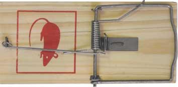 Мышеловка FIT, 18 х 8,5 см67810Мышеловка FIT имеет деревянную основу и прочный стальной механизм, который безотказно срабатывает при попадании грызуна внутрь конструкции. Данный инструмент применяется для ловли мышей дома и на даче. Характеристики: Материал: металл, дерево.Размер мышеловки: 18 см х 8,5 см. Размер упаковки: 23 см х 10 см х 1,5 см.
