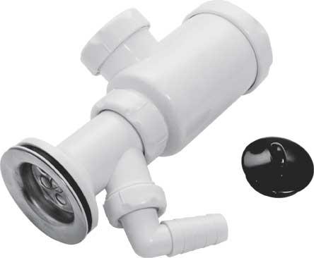 Сифон TeRma с отводом, длина 21 см, диаметр 4 см74821Предотвращает засорения канализационных труб (задерживает мусор, случайно попавший в трубу) и проникновения неприятных запахов из канализации в помещение. Характеристики: Материал: пластик, металл. Длина: 21 см. Диаметр: 4 см.Размеры упаковки:28 см х 18 см х 7 см.