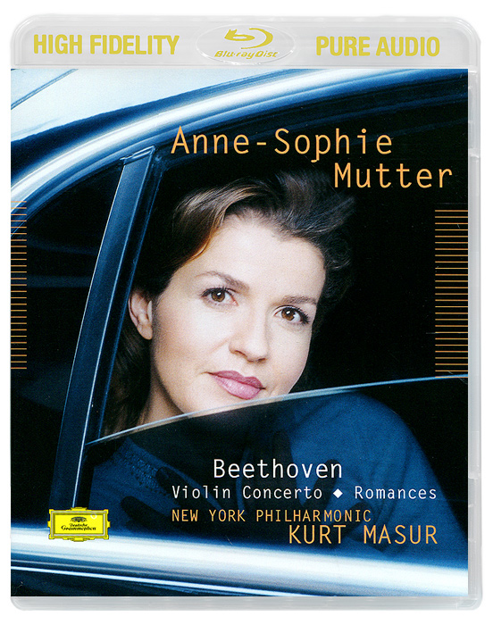 Anne-Sophie Mutter, Kurt Masur. Beethoven. Violin Concerto / Romances (Blu-Ray Audio)