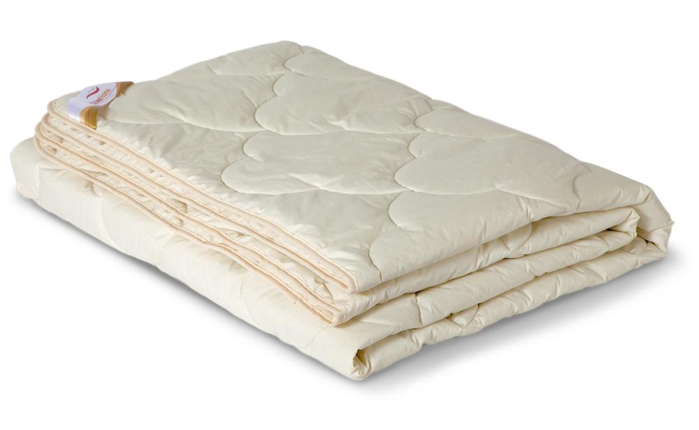 Одеяло облегченное OL-Tex Меринос, наполнитель: шерсть австралийского мериноса, цвет: сливочный, 172 см х 205 смОМТ-18-2Чехол облегченного одеяла OL-Tex Меринос выполнен из мягкого приятного на ощупь материала тик/перкаль сливочного цвета. Наполнитель - шерсть австралийского мериноса с полиэстером.Шерсть мериноса имеет множество достоинств. Мериносовая шерсть мягкая и эластичная, способна долгое время держать объем и форму, а благодаря естественному завитку отличается особой упругостью. Шерсть мериноса отличает высокая гигроскопичность, она способна впитывать до 33% влаги от своего объема, благодаря чему тело человека всегда остается в сухом тепле. В волокнах шерсти — миллионы воздушных подушечек, способствующих сохранению тепла и в холод, и в жару. Все эти качества шерсти мериноса служат залогом крепкого, здорового сна.Одеяло с шестью австралийского мериноса на любой сезон — уютное и теплое. Шерсть мериноса обладает целебными свойствами, благотворно воздействует на суставы.Одеяло упаковано в прозрачный пластиковый чехол на змейке с ручками, что является чрезвычайно удобным при переноске.Рекомендации по уходу:- стирка запрещена;- не гладить. Не применять обработку паром;- химчистка с использованием углеводорода, хлорного этилена, монофтортрихлорметана (чистка на основе перхлорэтилена);- нельзя выжимать и сушить в стиральной машине. Характеристики: Материал чехла: тик /перкаль (100% хлопок). Наполнитель: шерсть мериноса, полиэстер. Цвет: сливочный. Плотность: 200 г/м2. Размер одеяла: 172 см х 205 см. Размер упаковки: 55 см х 40 см х 15 см. Артикул: ОМТ-22-2.