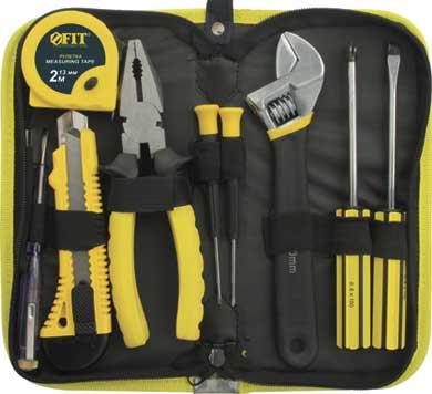 Набор инструментов FIT, 9 предметов. 65139