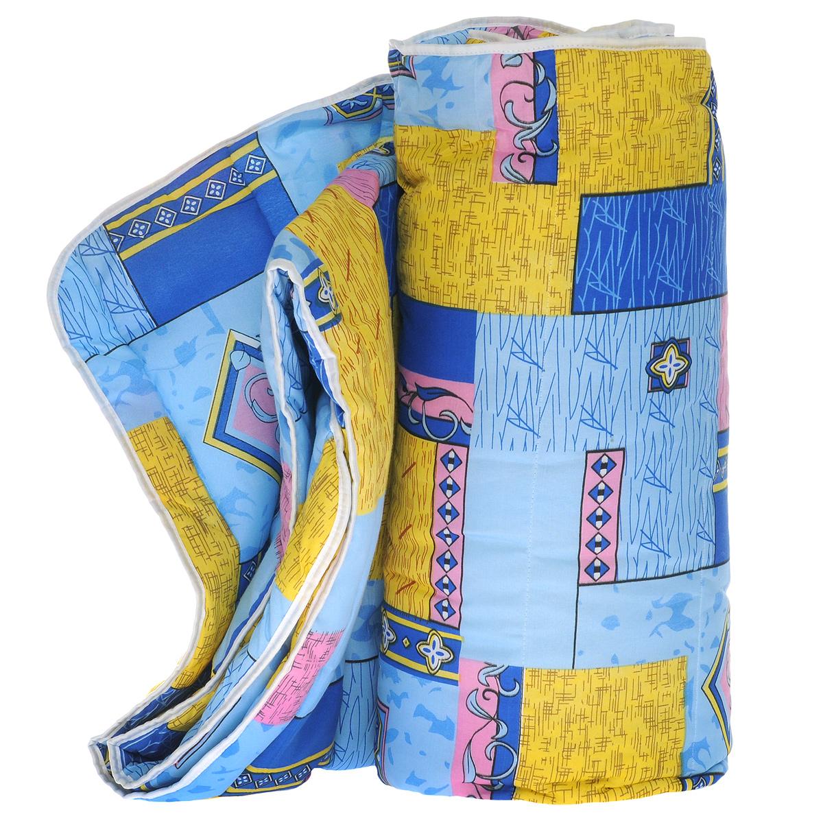 """Облегченное одеяло OL-Tex """"Miotex"""" создаст комфорт и уют во время сна. Чехол выполнен из полиэстера и   оформлен красочным рисунком. Внутри - современный наполнитель из полиэфирного   высокосиликонизированного волокна Holfiteks, упругий и качественный. Прекрасно держит тепло. Одеяло с   наполнителем Holfiteks легкое и комфортное. Даже после многократных стирок не теряет свою форму,   наполнитель не сбивается, так как одеяло простегано и окантовано. Не вызывает аллергии. Holfiteks - это   возможность легко ухаживать за своими постельными принадлежностями. Можно стирать в машинке, изделия   быстро и полностью высыхают - это обеспечивает гигиену спального места при невысокой цене на продукцию.     Рекомендации по уходу: - Ручная и машинная стирка при температуре 30°С. - Не гладить. - Не отбеливать.  - Нельзя отжимать и сушить в стиральной машине.   - Сушить вертикально.   Размер одеяла: 172 см х 205 см.  Материал чехла: 100% полиэстер.  Материал наполнителя: полиэфирное высокосиликонизированное волокно Holfiteks.  Плотность: 200 г/м2."""