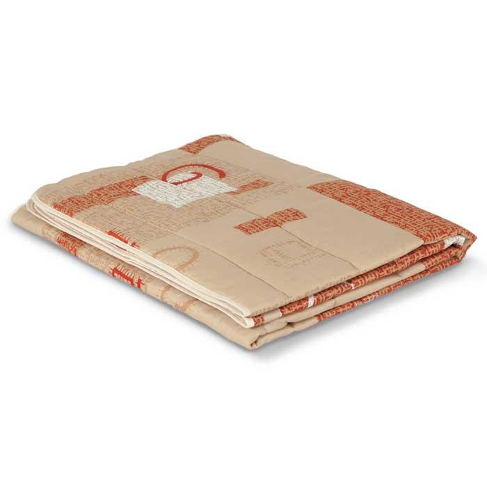 """Одеяло стеганое летнее Miotex """"Овечья шерсть"""", цвет: в ассортименте, 140 х 205 см МШПЭ-15-1, OL-Tex"""