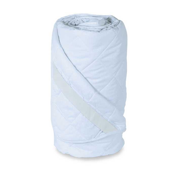 Наматрасник стеганый Miotex Холфитекс, поликоттон, цвет: белый, 200 см х 200 смМХП-200Чехол стеганого набивного наматрасника Miotex Холфитекс выполнен из поликоттона - это смесовая ткань (комбинация хлопка и полиэстера), отличается долговечностью, малой усадкой, низкой сминаемостью, хорошими гигиеническими свойствами. Наполнитель - холфитекс.Холфитекс - современный экологически чистый синтетический материал, изготовленный по новейшим технологиям. Его уникальность заключается в расположении волокон, которые позволяют моментально восстанавливать форму и сохранять ее долгое время. Изделия с использованием Холфитекса очень удобны в эксплуатации - их можно часто стирать без потери потребительских свойств, они быстро высыхают, не впитывают запахов и совершенно гиппоаллергенны. Холфитекс также обеспечивает хорошую терморегуляцию, поэтому изделия с наполнителем из холфитекса очень комфортны в использовании.Наматрасник Miotex Холфитекс - незаменимая вещь в вашей спальне, которая продлевает срок службы матраса, защищает его от пыли и загрязнений. Наматрасник крепится с помощью надежных резинок, расположенных по углам. Он прост в уходе и легко стирается в стиральной машине. Наматрасник прослужит долго, а его привлекательный внешний вид, при правильном уходе, сохранится на долгое время.Наматрасник Miotex Холфитекс - достойный выбор современной хозяйки! Наматрасник упакован в прозрачный пластиковый чехол на змейке с ручкой, что является чрезвычайно удобным при переноске. Характеристики: Материал чехла: поликоттон (50% хлопок, 50% полиэстер). Наполнитель: полиэфирное высокосиликонизированное волокно холфитекс. Цвет: белый. Плотность: 100 г/м. Размер наматрасника: 200 см х 200 см. Размер упаковки: 38 см х 37 см х 10 см. Артикул: МХП-200.