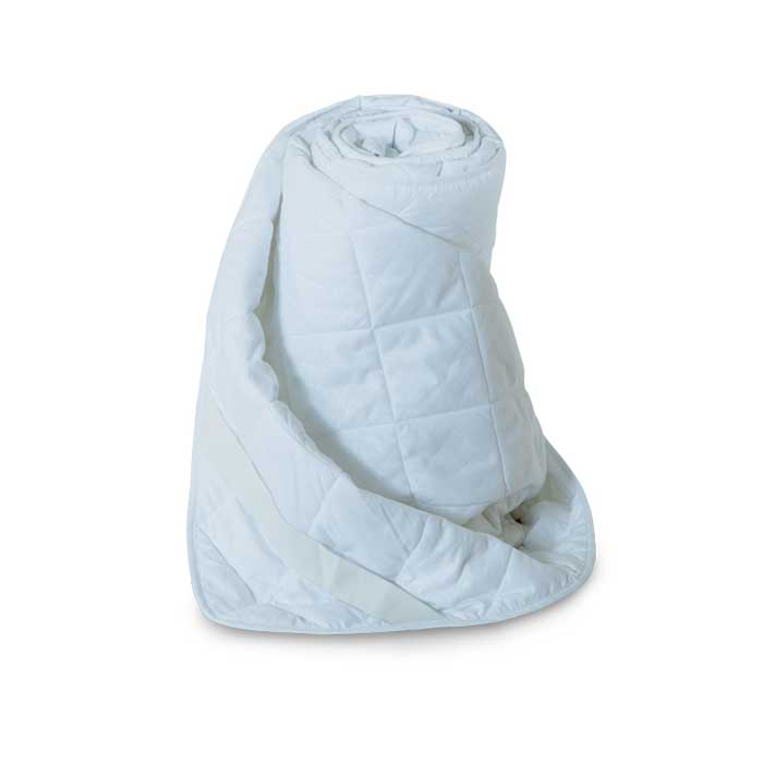 Наматрасник стеганый Miotex Холфитекс, цвет: белый, 180 х 200 см. МХМ-180114911501Чехол стеганого набивного наматрасника Miotex Холфитекс выполнен из мягкой приятной на ощупь микрофибры. Наполнитель - Холфитекс. Холфитекс - современный экологически чистый синтетический материал, изготовленный по новейшим технологиям. Его уникальность заключается в расположении волокон, которые позволяют моментально восстанавливать форму и сохранять ее долгое время. Изделия с использованием Холфитекса очень удобны в эксплуатации - их можно часто стирать без потери потребительских свойств, они быстро высыхают, не впитывают запахов и совершенно гиппоаллергенны. Холфитекс также обеспечивает хорошую терморегуляцию, поэтому изделия с наполнителем из холфитекса очень комфортны в использовании. Наматрасник Miotex Холфитекс - незаменимая вещь в вашей спальне, которая продлевает срок службы матраса, защищает его от пыли и загрязнений. Наматрасник крепится с помощью надежных резинок, расположенных по углам. Он прост в уходе и легко стирается в стиральной машине. Наматрасник прослужит долго, а его привлекательный внешний вид, при правильном уходе, сохранится на долгое время. Наматрасник Miotex Холфитекс - достойный выбор современной хозяйки! Характеристики: Материал чехла: микрофибра (100% полиэстер). Наполнитель: холфитекс. Цвет: белый. Плотность: 100 г/м. Размер наматрасника: 180 см х 200 см. Размеры упаковки: 40 см х 40 см х 5 см. Артикул: МХМ-180.