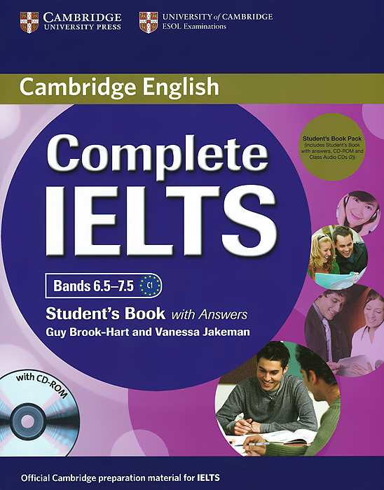 Complete IELTS: Bands 6.5-7.5: Student's Book with Answers (+ 2 CD, CD-ROM) complete advanced student s book with answers cd rom