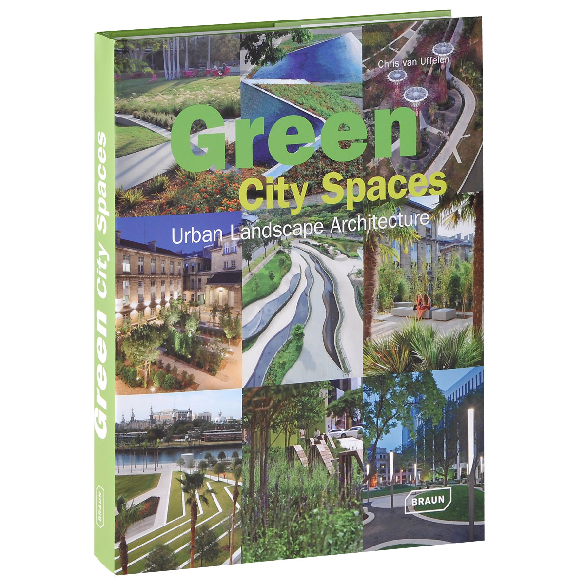 Green City Spaces: Urban Landscape Architecture the art of urban sketching drawing on location around the world