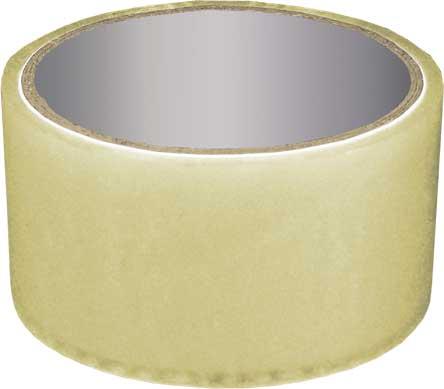 Скотч упаковочный прозрачный РОС, 140 м х 4,8 см х 50 мкр скотч двухсторонний cofield зеленый 12 мм х 2 м