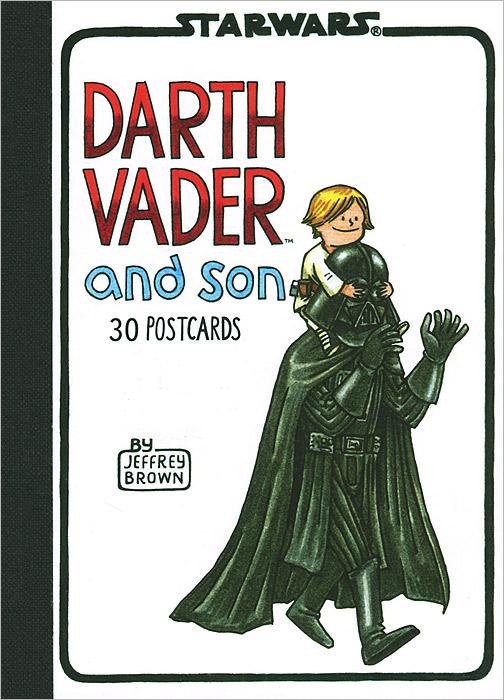 Darth Vader and Son: Postcard Book sw darth vader cry of shadows