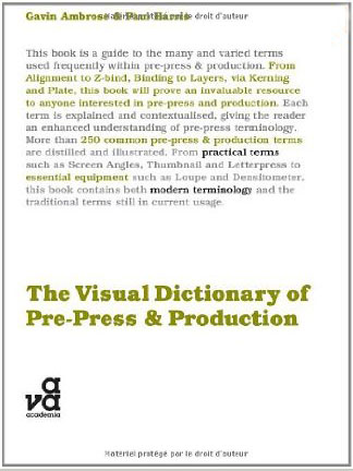 The Visual Dictionary of Pre-press and Production italian visual phrase book