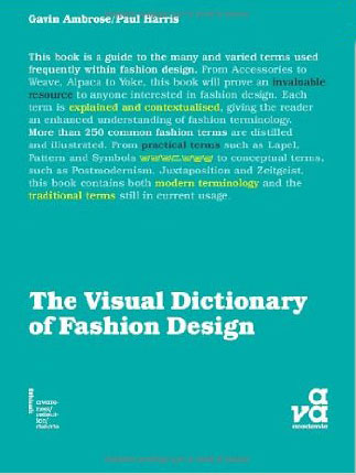 цены The Visual Dictionary of Fashion Design