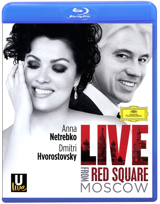 Anna Netrebko, Dmitri Hvorostovsky: Live From Red Square Moscow (Blu-ray) the berlin concert domingo netrebko villazon blu ray