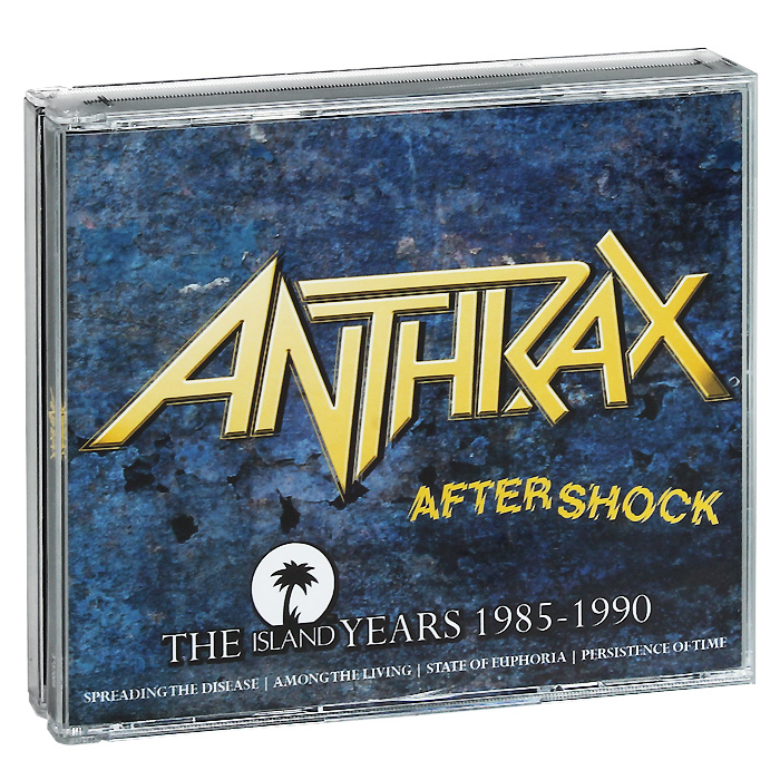 Anthrax Anthrax. Aftershock. The Island Years 1985-1990 (4 CD) our discovery island 4 audio cd 3 лцн