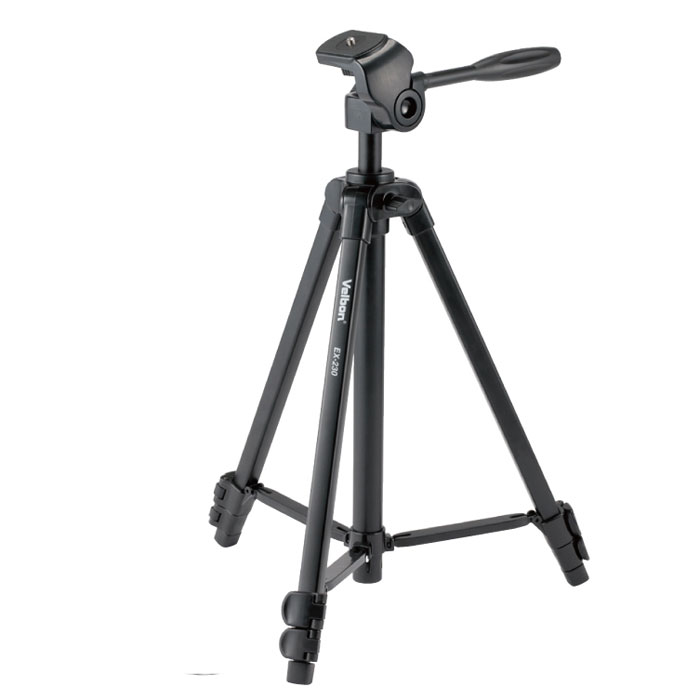 Velbon EX-230 штатив97065Фотоштатив Velbon EX-230 идеально подходит для цифровых компактных или беззеркальных камер.