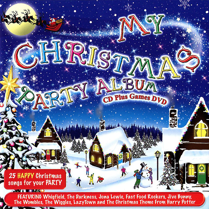 My Christmas Party Album (CD + DVD) eshiny mini red green laser projector 20 patterns christmas party dj lighting lights disco party bar dance stage light show y21
