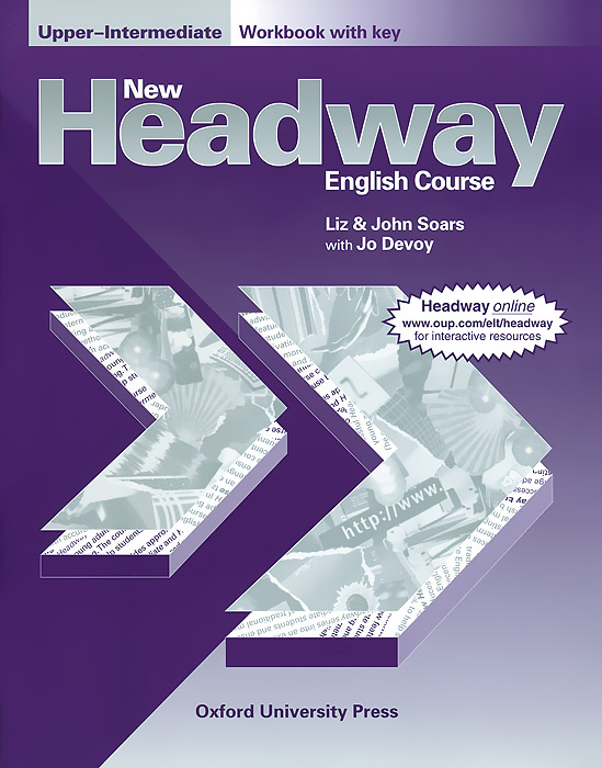 New Headway English Course: Upper-Intermediate: Workbook with Key clare a new total english intermediate workbook with key cd
