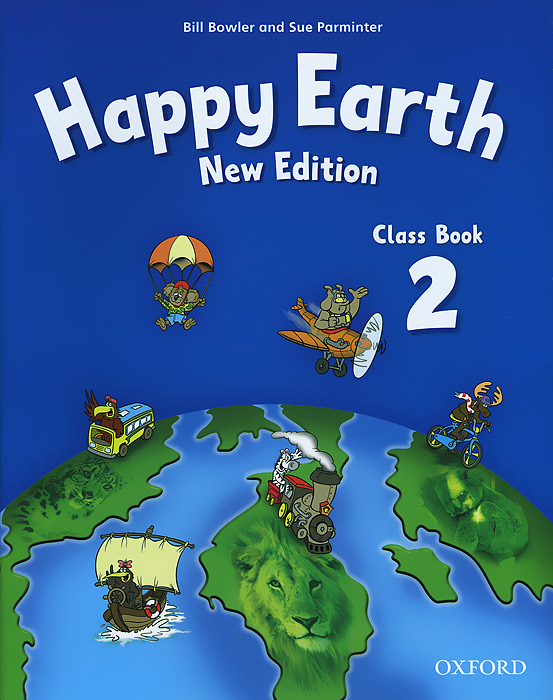 Happy Earth New Edition: Class Book 2
