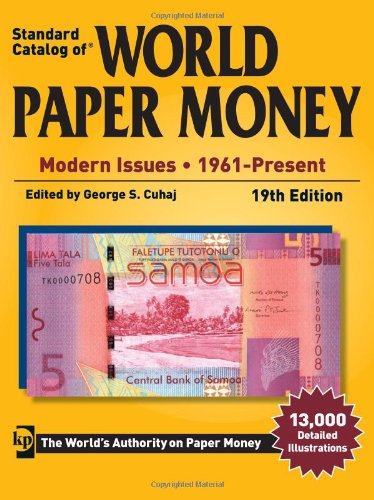 Standard Catalog of World Paper Money - Modern Issues: 1961-Present munro canada and the world wars paper only