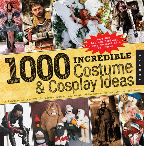 1,000 Incredible Costume and Cosplay Ideas: A Showcase of Creative Characters from Anime, Manga, Video Games, Movies, Comics, and More (1000 Series) свитер deblasio deblasio de022emzdj48