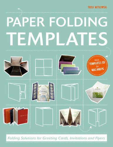 Paper Folding Templates: Folding Solutions for Greeting Cards, Invitations & Flyers design personalized printing red wedding invitations cards blank paper card kit laser cut lace flower convite pack of 50