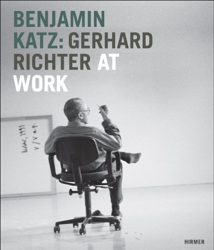 Benjamin Katz: Gerhard Richter at Work debbie katz кардиган