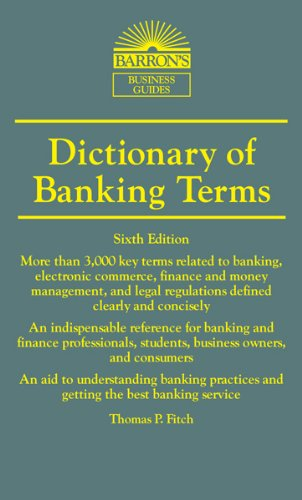 Dictionary of Banking Terms the illustrated dictionary of boating terms – 2000 essential terms for sailors