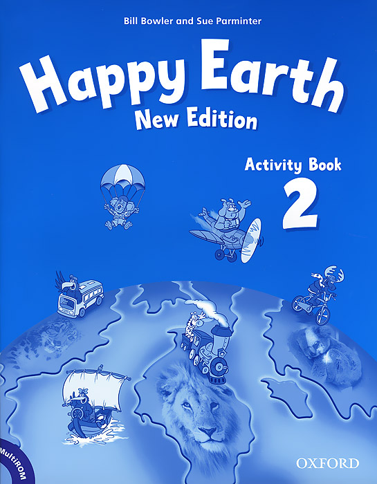 Happy Earth 2: Activity Book (+ CD-ROM) merry team 6 activity book audio cd