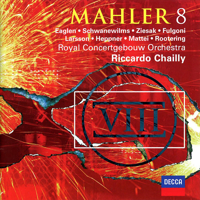Royal Concertgebouw Orchestra,Риккардо Шайи,Prague Philharmonic Chorus,Netherlands Radio Chor Royal Concertgebouw Orchestra, Riccardo Chailly. Mahler. Symphony No.8 verdi riccardo chailly rigoletto blu ray