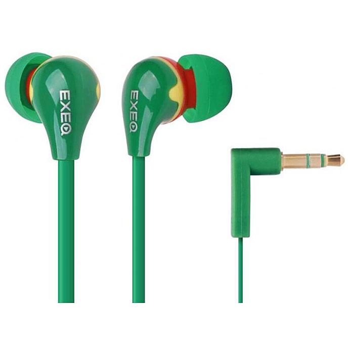 EXEQ HHC-002, Red Yellow Green наушникиHHC-002 JAEXEQ HHC-002 - эффектный дизайн наушников EXEQ HHC-002 из серии Happy Color с яркими цветовыми сочетаниями никого не оставит равнодушным. Маленькие, но громкие излучатели этих наушников-вкладышей обеспечивают плотное прилегание и чистый звук с мощными басами. Кабель длиной 130 см позволяет не только с удобством слушать музыку от плеера или телефона, но так же подключать наушники к Вашему ПК, а плоская конструкция кабеля не позволит ему запутаться. Прочный L-образный штекер с позолоченным 3.5 мм джеком позволит комфортно подключить наушники EXEQ HHC-002 ко многим портативным устройствам.Дизайн в цвете:Happy Color - серия наушников Exeq с самыми яркими и сочными цветовыми решениями. Одним из ярких представителей серии являются наушники EXEQ HHC-002. Модель имеет оригинальный дизайн, основным отличием которого является удачная комбинация самых ярких и модных цветов. В ассортименте 4 варианта самых оригинальных цветовых комбинаций – выбирайте то, что соответствует вашему настроению: стильное сочетание ночных красок - черно-голубые наушники, комбинация цветов российского флага -красно-сине-белые наушники, комбинация цветов для модных покупателей - желто-сиреневые наушники, оригинальное сочетание для любителей всего необычного - красно-желто-зеленые наушники.Качество звука:Несмотря на компактный и миниатюрный размер наушники EXEQ HHC-002 обеспечивают чистую и сбалансированную передачу музыки любого направления. Благодаря наличию неодимовых магнитов и широкому частотному диапазону в 20 Гц- 22000 Гц наушники способны передавать самые четкие звуки на разных вариантах громкости. Благодаря эргономичной форме и наличию мягких силиконовых амбушюр динамики EXEQ HHC-002 плотно прилегают к ушной раковине и обеспечивают полное погружение в мир любимых мелодий. В комплект входят 3 пары амбушюр разных размеров – подберите наушники подходящие именно Вам.Практичный провод «лапша»:Наушники EXEQ HHC-002 имеют практичный провод типа «лапша» 