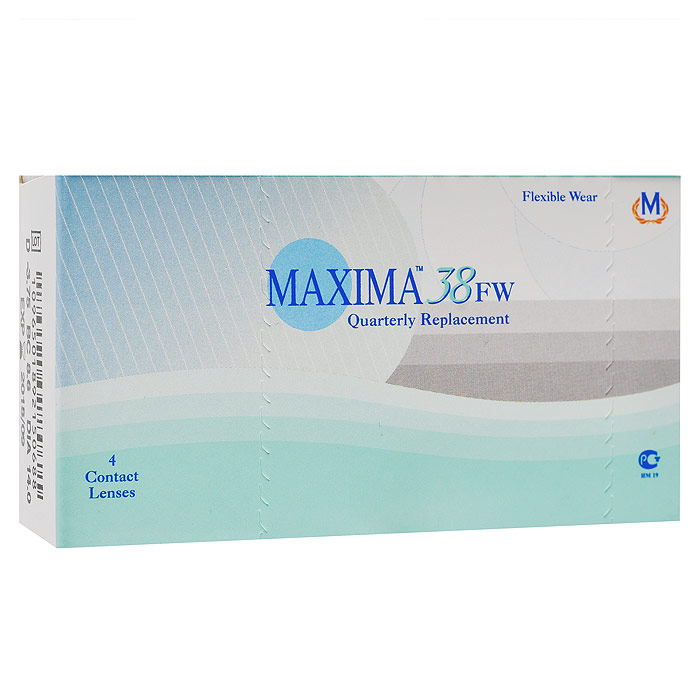 Maxima контактные линзы 38 FW (4шт / 8.6 / -0.50)