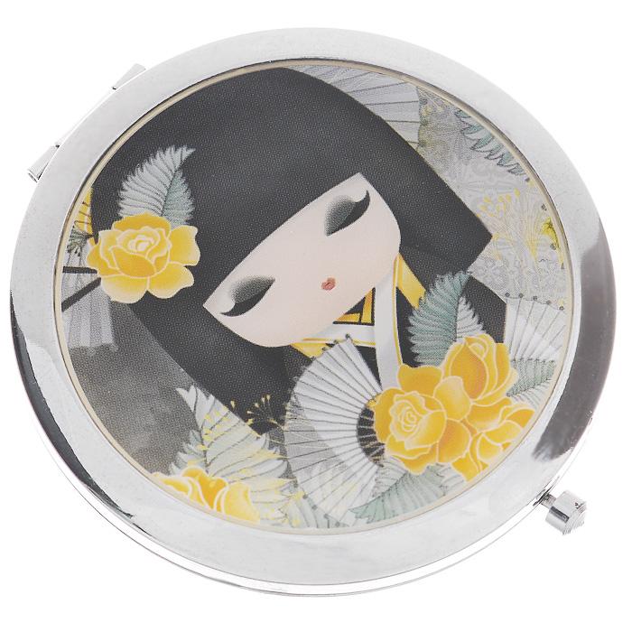 Карманное зеркало Kimmidoll Наоми (Красота). KF0837KF0837Карманное зеркало Kimmidoll Наоми (Красота) выполнено из металла, покрыто глазурью с внешней стороны и украшено рисунком очаровательной куколки Наоми. Зеркало двойное: одна сторона обычная, вторая - увеличивающая. Зеркало упаковано в подарочную коробку. Карманное зеркальце - необычный и очень приятный подарок подруге, маме или коллеге.Привет, меня зовут Наоми! Я талисман подлинной красоты. Мой Дух - гордый и вызывающий. Любя себя таким, каким вы есть, и, принимая каждый недостаток и несовершенство, как неотъемлемую часть нашей жизни, ваша честность раскрывает мой красивый и честный дух. Можете всегда гордиться собой, оставаясь самим собой и не меняя своих взглядов. Характеристики: Материал: металл, зеркало. Размер зеркала: 7 см х 7 см х 1 см. Размер упаковки: 10 см х 7 см х 1,5 см. Производитель:Китай. Артикул: KF0837.