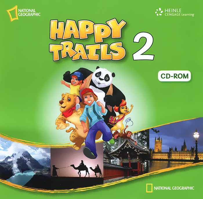 Happy Trails 2 (аудиокнига CD) happy trails 2 activity book