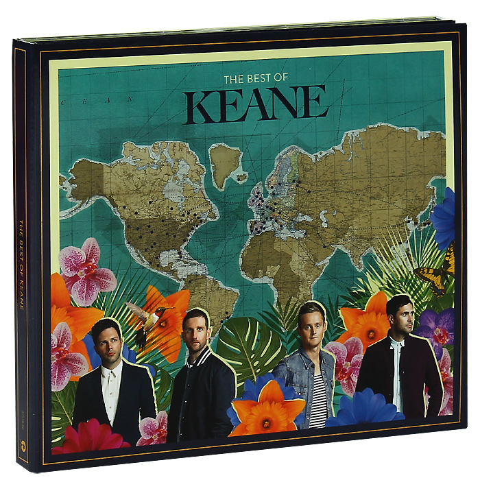 Keane Keane. The Best Of Keane. Deluxe Edition (2 CD) cd led zeppelin ii deluxe edition