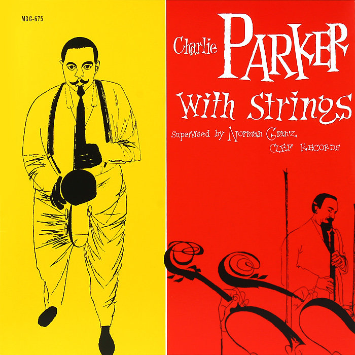 Чарли Паркер Charlie Parker. Charlie Parker With Strings (LP) 23inch ukulele hawaiian mini guitar four strings guitarra with tuner bag strap strings picks