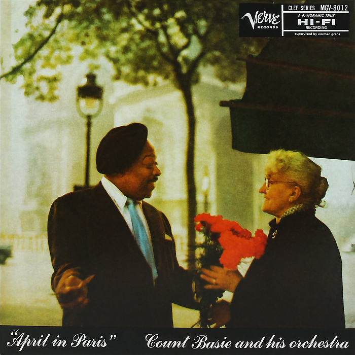 Каунт Бэйси Count Basie. April In Paris (LP) каунт бэйси count basie april in paris lp